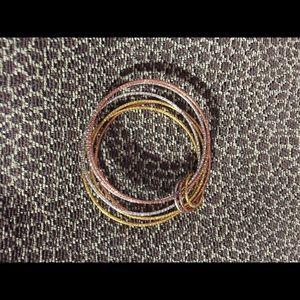 💥Beautiful Gold, Silver & Rose Tone Bracelet 💥